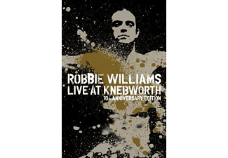 Robbie Williams - Live At Knebworth - 10th Anniversary Edition (Limited Deluxe Edition) [Blu-ray]
