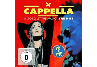 Cappella - U Got 2 Let The Music-The Hits - (CD + DVD)