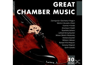 VARIOUS, Grumiaux, Haskil, Fournier, Milstein, Fonda - Great Chamber Music - (CD)