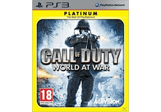 Call of Duty: World at War Platinum PS3 PS3