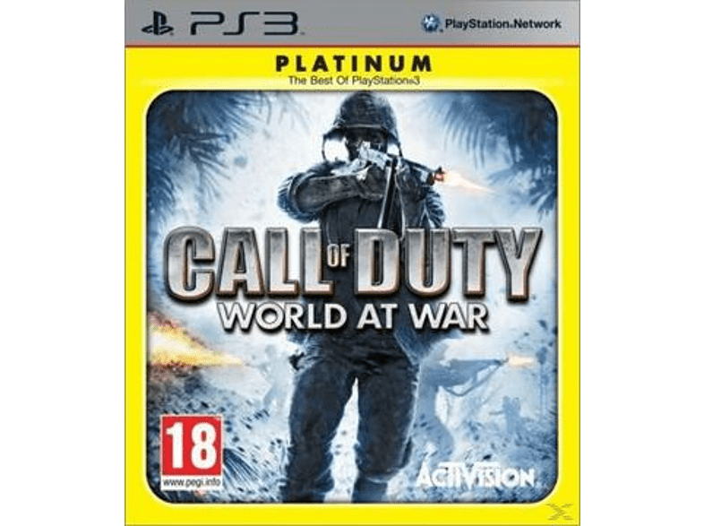 Call of Duty: World at War Platinum PS3 PlayStation 3 gaming   offline sony ps3 παιχνίδια ps3 gaming games ps3 games