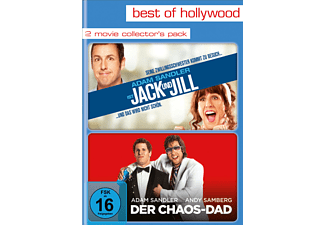 2 Movie Collector's Pack (Jack und Jill / Der Chaos-Dad) - (DVD)