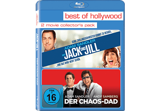 2 Movie Collector's Pack (Jack und Jill / Der Chaos-Dad) - 2 Disc Bluray - (Blu-ray)