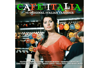 VARIOUS - Cafe Italia - (CD)