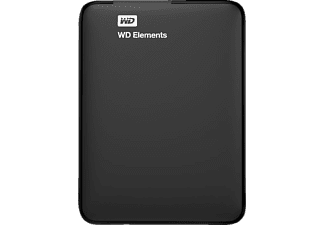 WD Elements 1 TB USB 3.0 Portable Externe Harde Schijf Zwart