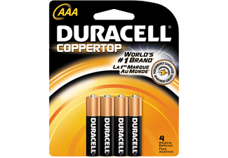 DURACELL 75062657 AAA 4 Adet İnce Kalem Pil