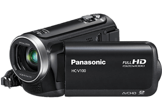 PANASONIC HC-V100 Full HD 34x Optik Zoom Video Kamera