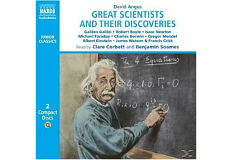 GREAT SCIENTISTS AND THEIR DISCOVERIES - 2 CD -