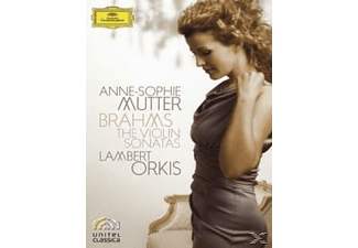 A. Mutter, L. Orkis, J. (composer) Brahms, Anne-sophie Mutter * Lambert Orkis - The Violin Sonatas - (Blu-ray)