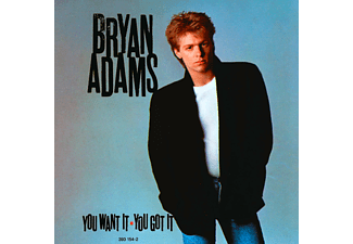 Bryan Adams - You Want It, You Got It [CD]