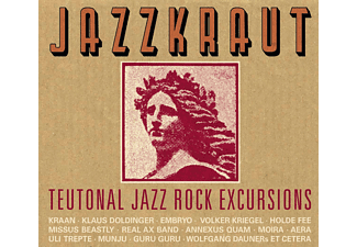 Various - Jazzkraut-Teutonal Jazz Rock Excursions [CD]