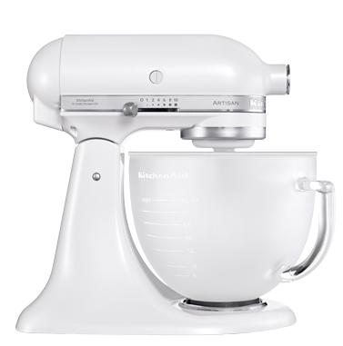 kitchenaid 5ksm156efp artisan kchenmaschine wei - Kitchenaid Kuchenmaschine Artisan Weis 5ksm150psewh
