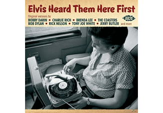 VARIOUS - Elvis Heard Them Here First - (CD)