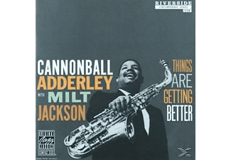 Cannonball Adderly;Milt Jackson - THINGS ARE GETTING BETTER (OJC REMASTERS) [CD]