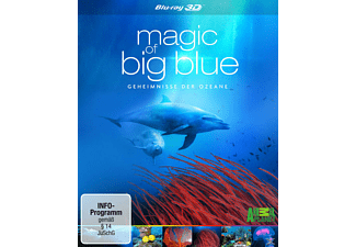 MAGIC OF BIG BLUE (3D) - (3D Blu-ray)