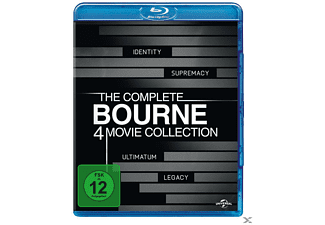 Bourne Collection 1-4 - (Blu-ray)