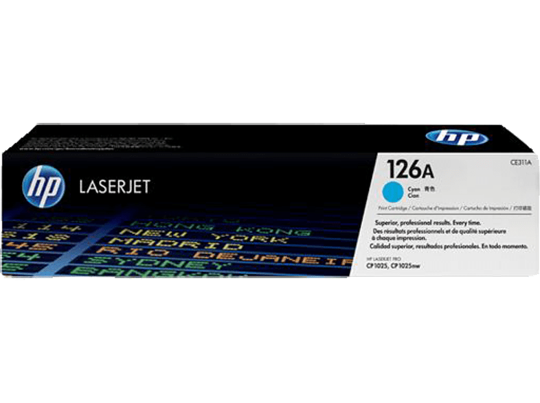 HEWLETT PACKARD CE311A Cyan 126A laptop  tablet  computing  εκτύπωση   μελάνια μελάνια  toner