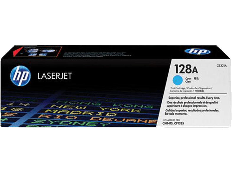 HEWLETT PACKARD CE321A Cyan 128A laptop  tablet  computing  εκτύπωση   μελάνια μελάνια  toner computing   tablets