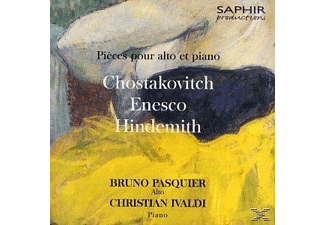 Christian Ivaldi Bruno Pasquier - Pieces Pour Alto Et Piano [CD]