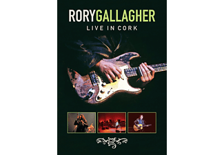Rory Gallagher - Live In Cork (Re-Release) [DVD + Video Album]