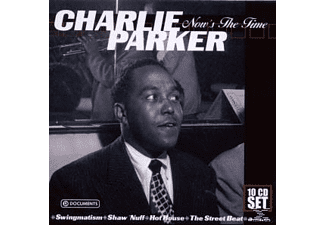 Charlie Parker - Now's The Time-Wallet Box [CD]