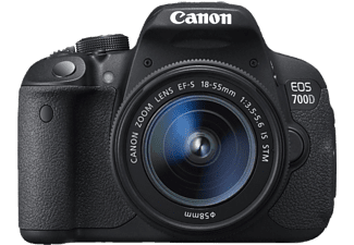 CANON EOS 700D 18-55mm IS STM Lens Kit Dijital SLR Fotoğraf Makinesi