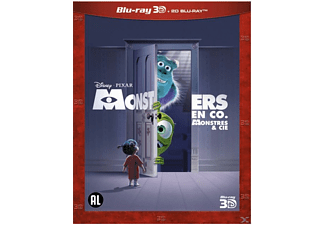 Monsters En Co 3D | Blu-ray