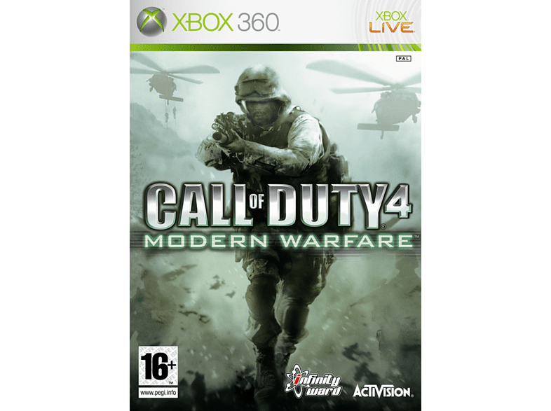 Call of Duty 4 Modern Warfare Classic Xbox 360 gaming games xbox 360 games