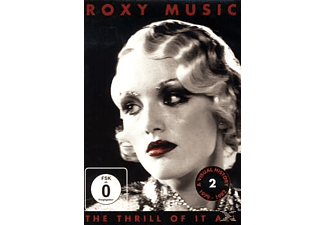Roxy Music - THE THRILL OF IT ALL - 1979-1982 [DVD]