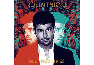 Robin Thicke - Blurred Lines (CD)