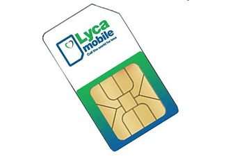 LYCA MOBILE SIM-PACK € 15 New