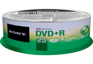 SONY 25DPR47SP 25'li DVD+R Spindle Paket