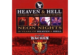 Heaven & Hell - Neon Nights - Live At Wacken 2009 (CD)