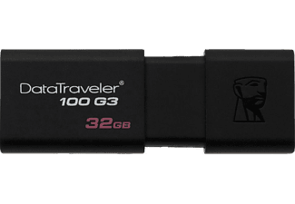 KINGSTON DT100G3 Data Traveler 32 GB USB 3.0 Taşınabilir Bellek