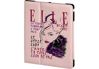HAMA Elle Portfolio Lady, Bookcover, 9.7 Zoll, iPad Air, Pink