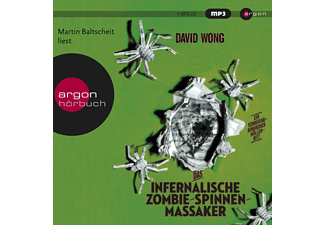 INFERNALISCHE ZOMBIE-SPINNEN-MASSAKER (MP3) - 2 MP3-CD - Krimi/Thriller