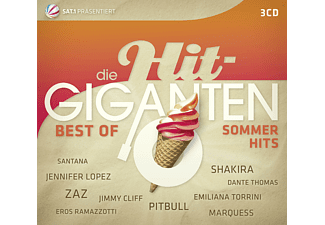 Various - Die Hit-Giganten - Best Of Sommer Hits [CD]