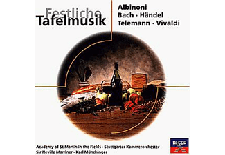 Academy Of Saint Martin In The Field, Stuttgarter Kammerorchester, Marriner Neville - Festliche Tafelmusik [CD]