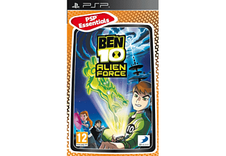 Ben 10: Alien Force Essentials PSP