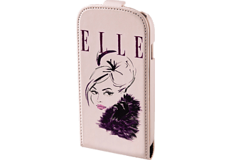 HAMA ELLE Flap-Tasche Flap Lady in Pink, Flip Cover, Apple, iPhone 5, iPhone 5s, iPhone SE, Kunstleder, Pink