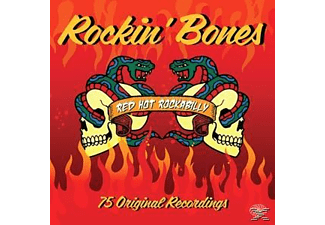 VARIOUS - Rockin' Bones (Red Hot Rockabilly) [CD]