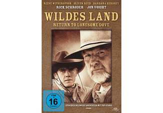 WILDES LAND - RETURN TO LONESOME DOVE 1-4 TEIL [DVD]