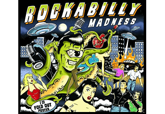 VARIOUS - Rockabilly Madness - Essential Collection [CD]