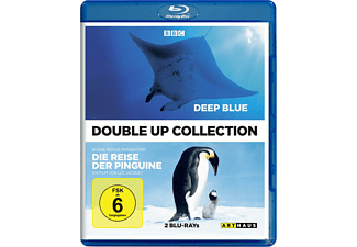 Deep Blue + Die Reise der Pinguine Double Up Collection [Blu-ray]