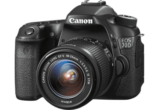 CANON EOS 70 D + 18-55 IS STM