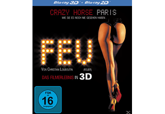 FEU - Crazy Horse Paris [3D Blu-ray]