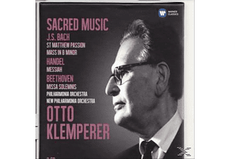 VARIOUS, Philharmonia Chorus, New Philharmonic Orchestra, The Philharmonia Orchestra - Sacred Music [Box-Set] - (CD)