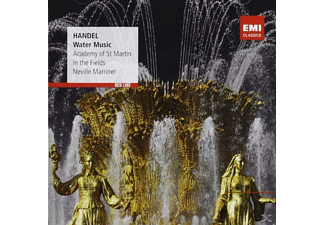 Marriner Neville, Academy of St. Martin in the Fields - Water Music [CD]