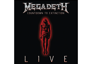 Megadeth - COUNTDOWN TO EXTINCTION - LIVE [CD]