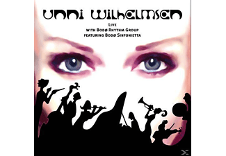 Bode Rhythm Group, Bode Sinfonietta, Unni Wilhelmsen - Live With Bodo Rhythm Group - (CD)